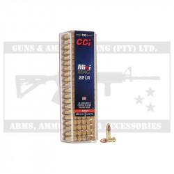 CCI .22LR AMMO MINI MAG CPRN (100)