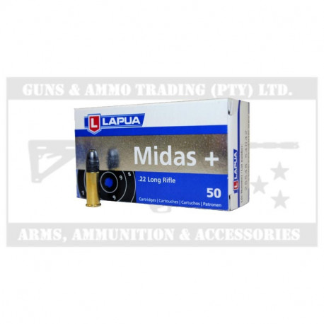 LAPUA .22 LR MIDAS + (50)