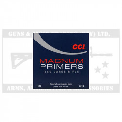 PRIMERS CCI 250 MAG LARGE RIFLE (P-100)