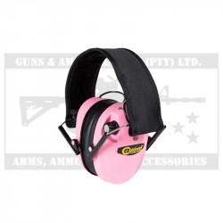 CALDWELL E-MAX LOW PRO EAR MUFFS PINK