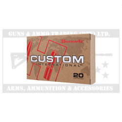 HORNADY AMMO .30-06 220GR CUSTOM INTERNATIONAL