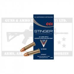 CCI .22LR AMMO STINGER(50)