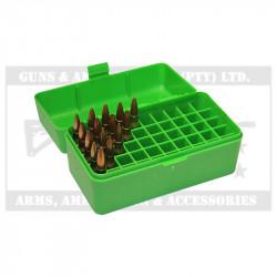 MTM Rifle Ammo Case (RM50-10) Flip Top