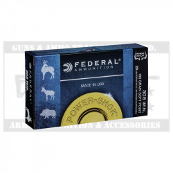 FEDERAL 308WIN AMMO 180GR POWER SHOK(20)