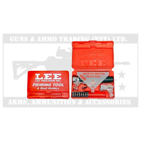 LEE PRIMING TOOL KIT WITH SHELL HOLDERS