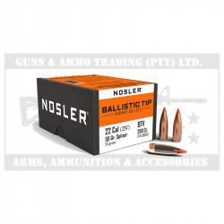 NOSLER BT BULLETS .224 55GR (250)