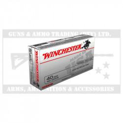 WINCHESTER AMMO 40S&W 180GR JHP USA(50)