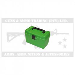 MTM RIFLE AMMO CASE (H50-XL-10) FLIP TOP (338-500)