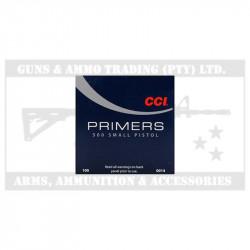 CCI 500 SMALL PISTOL PRIMERS P/100