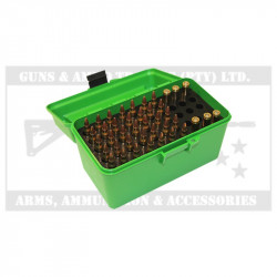 MTM RIFLE AMMO CASE (H50-R-MAG-10) FLIP TOP