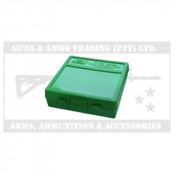 MTM HANDGUN AMMO CASE (P100-9-10) 9MM, 380