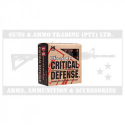 Hornady 40 S&W 165 gr FTX Critical Defense