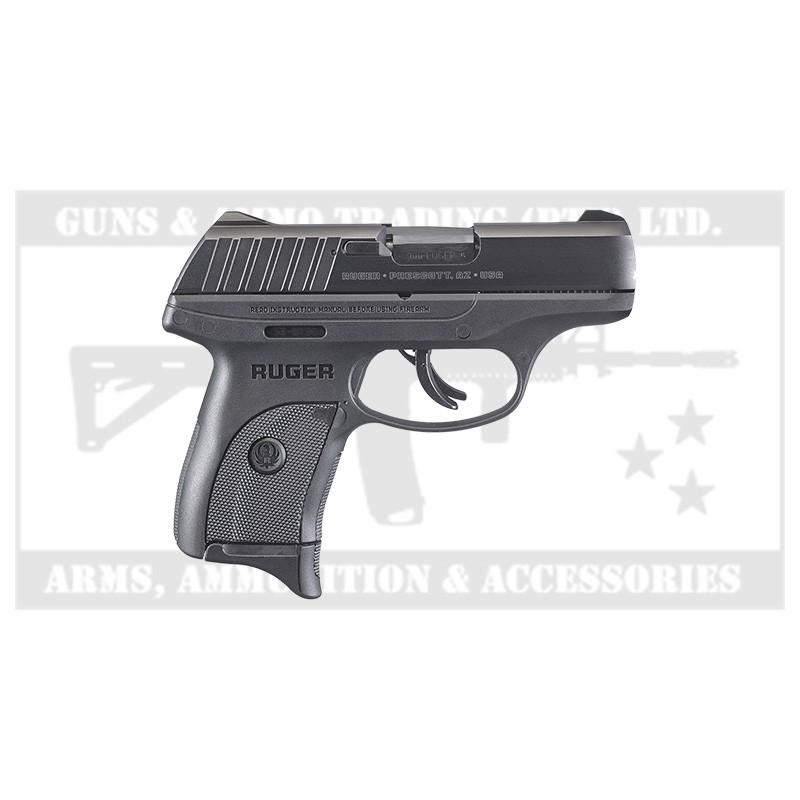 Ruger Ec9s 9mm Lugr Pistol Blk 7rd