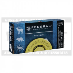 FEDERAL 300WM AMMO 180GR POWER SHOK(20)