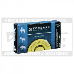 FEDERAL 7MM MAUSER (7X57) 140GR POWER SHOK(20)