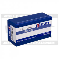 LAPUA BUL 6.5MM 155GR MEGA SP (100)