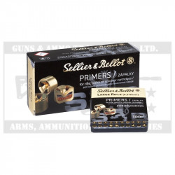 S&B LARGE RIFLE PRIMERS